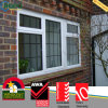 Doppia finestra lustrata standard australiana Ropo16987 della tenda di PVC/Plastic