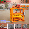 Hand Press Cement/Concrete Brick Moulding Machine Qtj4-40b