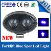青い点の矢LED警告ランプ9-64Vのフォークリフト