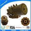 Inyección de plástico PA66 Nylon helicoidal espiral helicoidal del engranaje