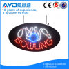 Muestra sensible oval del bowling LED de Hidly