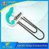 Segnalibro di gomma del PVC personalizzato professionista per il regalo di promozione (XF-BM01)