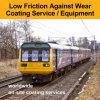 Desgaste ferroviario de la reparación - las capas resistentes entrenan a la capa anti de la fricción de los motores locomotores en los servicios/equipo del sitio