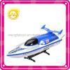 Modèle à grande vitesse de bateau de combat à télécommande de 1:80 de jouet de bateau de qualité
