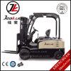 Nieuwste China 1.5t-2.0t Vier de Elektrische Vorkheftruck van Wielen