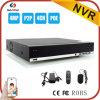 2017熱い販売4CH 4MP Poe NVRサポートP2p