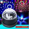 Indicatore luminoso variopinto del partito della fase chiara di Actived dei cambiamenti di colore del LED 6 del girasole magico di cristallo sano della sfera