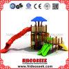 大きい管のスライドを持つ自然な様式公園の子供Enterainment