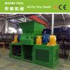 Máquina Waste do shredder da película plástica para o LDPE do HDPE dos PP do PE