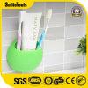 Acessórios do banheiro do suporte do Toothbrush do silicone do copo da sução