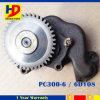 Pomp pc300-6 Hydraulische Pomp 6D108 van de Olie van het graafwerktuig (6221-53-1101)