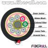 96 câble fibre optique extérieur non métallique des fibres GYFTY avec FRP