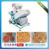 穀物カラーFotosorterの米、ナット、豆のための写真の選別機