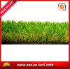 Relvado macio da grama artificial impermeável do jardim do PE para o lazer