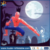 Spiderman gonfiabile, Spiderman della decorazione di Halloween che fa pubblicità al fumetto