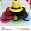 Chapéu de palha de papel colorido de Panamá