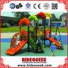 Напольное пластичное оборудование спортивной площадки с скольжением и качанием