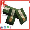 La bolsa de plástico tamaño pequeño para las hojas de té que empaquetan al vacío