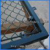 上塗を施してあるチェーン・リンクの塀
