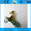 3-8mm Clear Diamond Patterned Figured Glass com CE & ISO9001