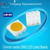 2.8V 3.4V 황금 5050 SMD LED 다이오드