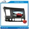 8 estruendo GPS de la pulgada HD 2 para Honda Civic con el cuadro del Rds del iPod de Bluetooth en el cuadro (z-2947Z)