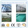 La venta caliente 2016 certificó el cercado soldado Curvy cubierto PVC del acoplamiento de alambre de acero