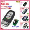 Chave de sistema esperta das auto teclas de 754j Audi A6l 315MHz 4 com a microplaqueta ID46