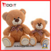 Peluche Bear de Brown New Design Sitting de 2 tamanhos com Bow