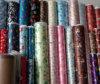 Tissu de satin imprimé par polyester