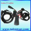 Lexia-3 Citroen/Peugeot-Auto-Diagnosewerkzeug (V46 V23 PP2000 5 Kabel)