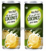Bebida espanhola do suco do coco do leite de coco