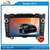 Jugadores de DVD del coche de 8 pulgadas HD para el cr-v de Honda con el iPod GPS (z-2910J) de Bluetooth