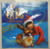 Nueva tradición del reno del Libro-uno del reno de la cubierta suave del libro del reno del animal doméstico del duende 2017 en el libro de regalo caliente de la Navidad de la historieta de la venta del estante