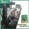 De alta tecnología de válvula Bolsa de papel que hace la máquina