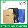 Compras modificadas para requisitos particulares de la manera de la impresión y bolsa de papel de Kraft del regalo