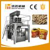 Amendoins automáticos cheios da embalagem que fazem a maquinaria