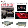 Mazda Mzd 시스템을%s 지원 Mirrorlink/Bt/WiFi Multimedai 인조 인간 GPS 공용영역
