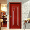 porta de aço de madeira do período 2015new vermelho (SX-8-1033A)