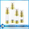 Bottiglia senz'aria cosmetica poco costosa della pompa di vendita superiore