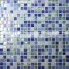 Melt смешивания 15X15mm плитка мозаики голубого горячего стеклянная (BGC006)