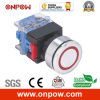 Onpow 30mm Push Button Switch (LAS0-K30-11EB/R/12V, CE, CCC, RoHS)