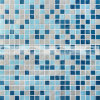 da decoração azul dos TERMAS da mistura de 15X15mm telha de vidro de derretimento do mosaico (BGC033)