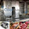 Спиральн замораживатель для еды/рыб/мяса/цыпленка/овощей/подготовленной еды
