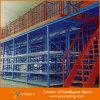 Beiseite legende Fabrik-Lager-Metallplattform-Mezzanin