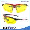Les sports des hommes neufs de mode ont polarisé des lunettes de soleil avec les bâtis optiques