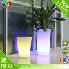 다채로운 플라스틱 LED 화분