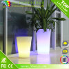Crisoles de flor coloridos del plástico LED