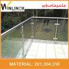 U het Kanaal Aangemaakte Traliewerk van het Glas Frameless voor Balkon