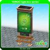 Étalage à énergie solaire de la publicité extérieure de cadre léger